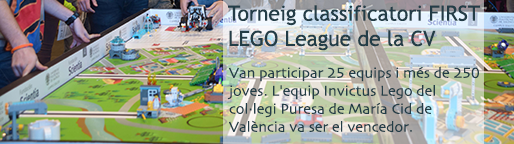 Torneig classificatori FIRST LEGO League de la CV