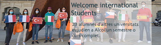Welcome international Students