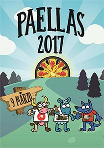 Cartel Paellas EPSA 2017